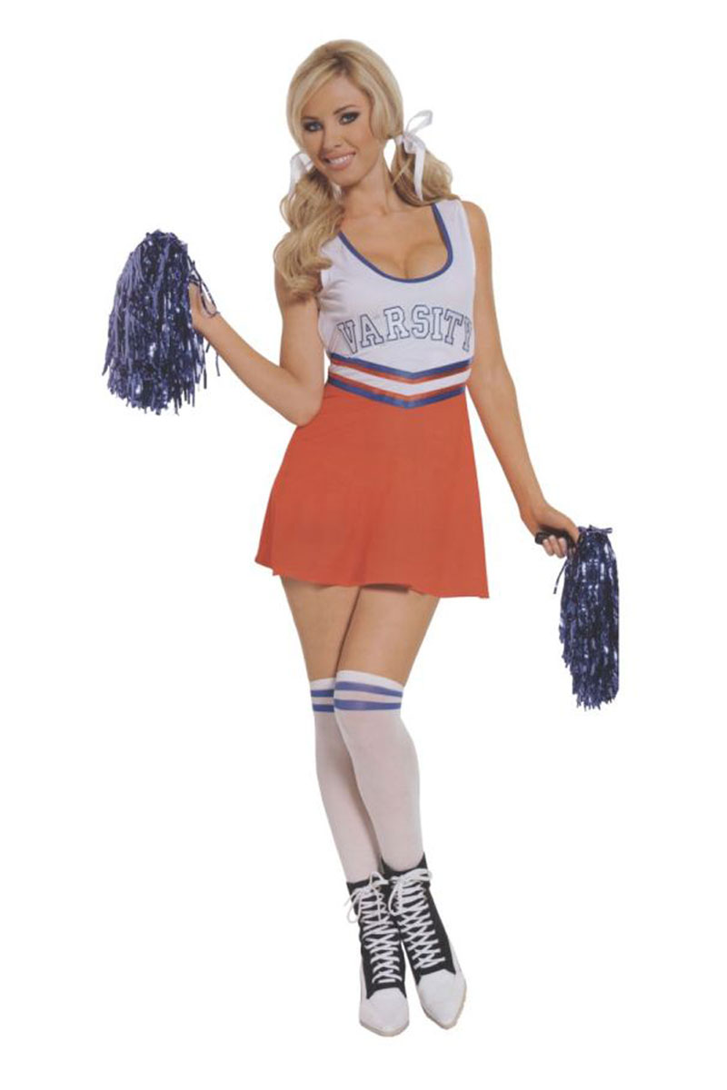 Cheerleader Team Captain Costume