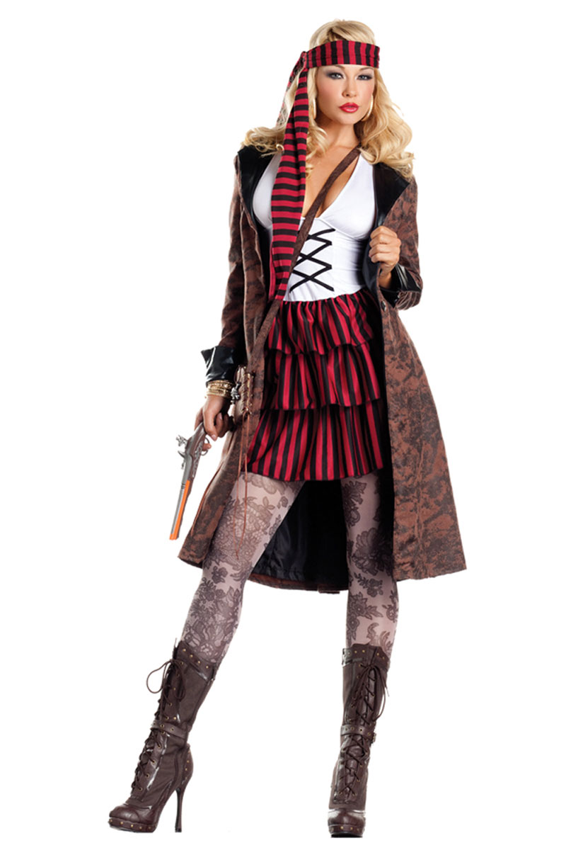 Provocative Pirate Costume by Foxy Intimates®