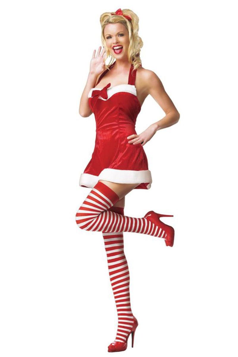 Santas Little Helper Costume By Leg Avenue - Foxy Lingerie-6056