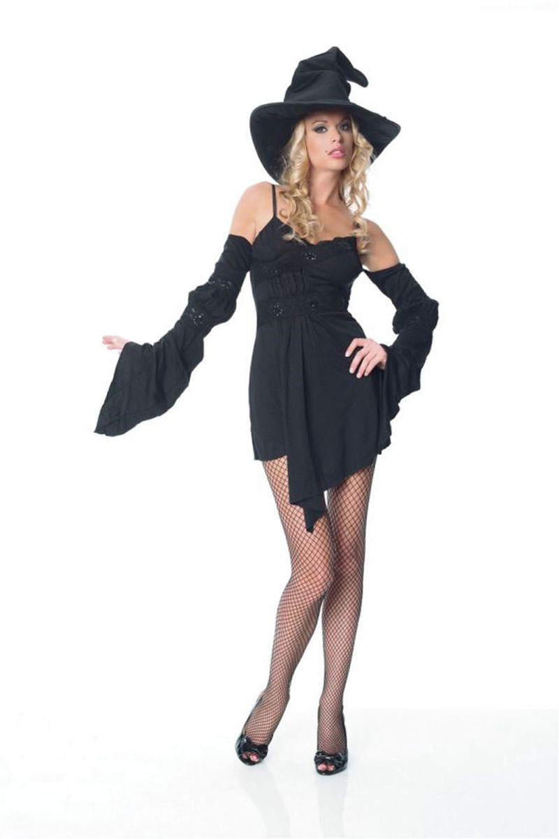 Sexy witch dress